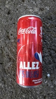 Lattina Italia - Coca Cola - 33 Cl. - Campionati Mondiali 2014 - Allez - Latas