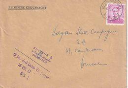 """""""BSD / FBA : Bf PZ (B)  3 Fr """" BPS 2 / 17.12.60""""  (BPS 2 = PROPSTEIERWALD)  (18  Licht Vliegwezen) - Postmark Collection"""