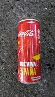 Lattina Italia - Coca Cola - 33 Cl. - Campionati Mondiali 2014 - Que Viva - Latas
