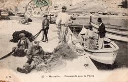 MARSEILLE - Préparatifs Pour La Pèche - - France