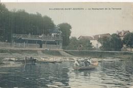 94) VILLENEUVE ST-GEORGES : Restaurant De La Terrasse - Villeneuve Saint Georges
