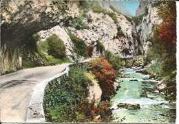 11. CPSM. Aude. Saint-Martin-Lys. Défilé Des Gorges De Pierre Lys - France