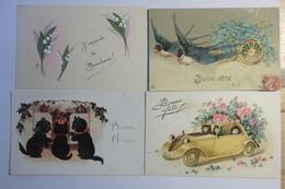 Lot 35 Cpa Fantaisie - TOS03 - Cartes Postales