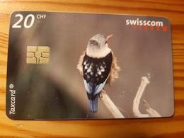 Phonecard Switzerland - Bird - Suisse