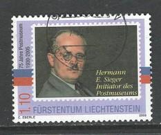 Liechtenstein, Mi 1380 Jaar 2005,  Gestempeld - Liechtenstein