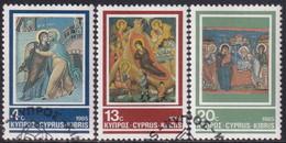 Cyprus 1985 SG #670-72 Compl.set Used Christmas - Cyprus (Republic)