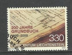 Liechtenstein, Mi 1512  Jaar 2009, Hogere Waarde,   Gestempeld - Liechtenstein