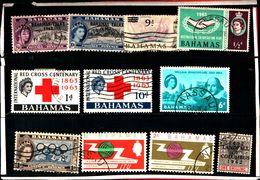 93781 ) BARBADOS LOTTO FRANCOBOLLI - USATO - Bahamas (...-1973)