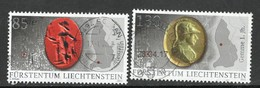 Liechtenstein, Mi 1779 + 81  Jaar 2015, Gestempeld - Liechtenstein