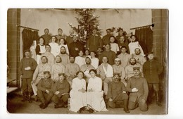 CARTE PHOTO - Militaires - Un Noël En Allemagne (Dusseldorf) - Régiments