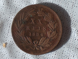 Portugal XX Reis 1884 - Portugal