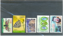 ESPAGNE Y & T N° 4199 - 4299 - 4365 - 4373 - 4375 ( O ) Les 5 Timbres - 1931-Hoy: 2ª República - ... Juan Carlos I