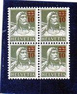 CG23 - 1921  Svizzera - Guglielmo Tell - Unused Stamps