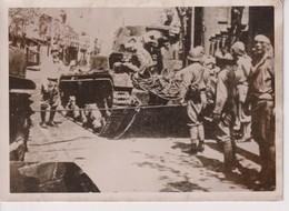 MALAYSIA  MALAYA JAPANER ERBEUTEN BRITENPANZER  WW2 WORLD WAR.  18*13CM  PRESS FOTO JAPON CHINE CHINA JAPAN - Guerra, Militari