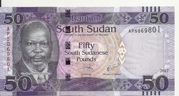 SOUDAN SOUTH 50 POUNDS 2017 UNC P 14 C - Soudan