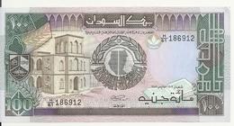 SOUDAN 100 POUNDS 1988-90 AUNC P 44 - Soudan