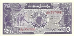 SOUDAN 25 PIASTRES 1985 UNC P 37 - Soudan