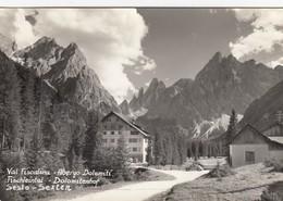 SEXTEN-SESTO-BOZEN-BOLZANO-VAL FISCALINA-ALBERGO =DOLOMITI=CARTOLINA VERA FOTOGRAFIA VIAGGIATA IL 12-8-1960 - Bolzano (Bozen)