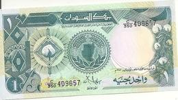 SOUDAN 1 POUND 1987 AUNC P 39 - Soudan