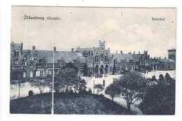 Ansichtskarte , Oldenburg Bahnhof , 1909 - Oldenburg