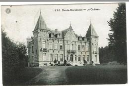 Denée - Maredsous - Le Château - Circulée 1912 - Edit. G. Hermans N° 836 - 2 Scans - Anhée
