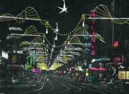 BE915 - BRUXELLES - BRUSSEL - Exposition Universelle De 1958 - Féeries Lumineuses - Boulevard Adolphe Marx - Expositions Universelles