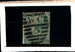 93791) BERMUDA - 1865-REGINA VITTORIA  1 S. VERDE-USATO-N.5 - 1858-1960 Colonia Britannica