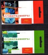 2003 Iceland Europa CEPT Art Poster History Sets Of Booklets MNH** MiNr. 1038 - 1039  DL /Dr - 1944-... Republik