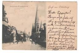 Ansichtskarte , Gruss Aus Oldenburg , Gartenstrasse , 1897 - Oldenburg