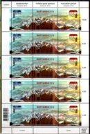 2016 Switzerland Opening Of Gotthard-Basistunnel Sheetlet MNH** MiNr. 2443 - 2444 Transport, Industry, Mountains - Suisse
