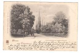 Ansichtskarte , Gruss Aus Oldenburg , Gartenstrasse , 1899 - Oldenburg