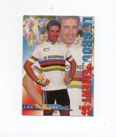 CYCLISME   Tour De France  LUC LEBLANC LE GROUPEMENT 1995 6 X 9 - Cycling