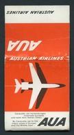 MATCHBOOK : AUSTRIAN AIRLINES - CARAVELLE JET - Luciferdoosjes