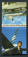 MATCHBOOK : KLM - ROYAL DUTCH AIRLINES - AMSTERDAM INTERNATIONAL AIRPORT - Boîtes D'allumettes
