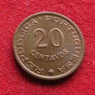 Mozambique 20 Centavos 1961 Mozambico Moçambique Wº - Mozambique