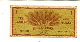 FINLAND 1 MARKKA 1963 VF 2.00 - Finland