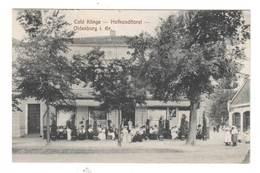 Ansichtskarte ,  Oldenburg , Cafe Klinge - Hofkonditorei , 1911 - Oldenburg
