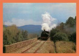 A518 / 019 Train à Vapeur Des Cevennes Train Sur Viaduc De Boisseson - Frankreich