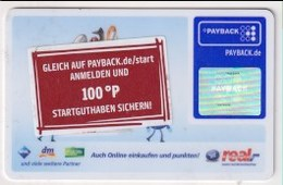 GC 23485 GERMANY- Payback - Real - Gift Cards