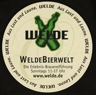 Bierdeckel  -  Welde Bierwelt  -  Welde Gold - Portavasos