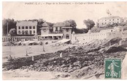CPA - 44 - Pornic - Plage De La Noeveillard - Le Café Et Hotel De Maucard - Pornic