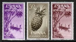 FERNANDO PO  Scott # 212-4** VF MINT NH (Stamp Scan # 615) - Fernando Po