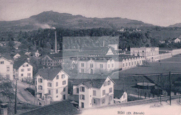 Rüti ZH, Cheminées D'usine (4103) - ZH Zurich