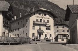 MOLINI DI TURES-MUNLEN IN TAUFERS-BOZEN-BOLZANO-ALBERGO=LEPRE=CARTOLINA VERA FOTOGRAFIA VIAGGIATA IL 4-9-1956 - Bolzano (Bozen)
