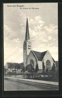AK Bruggen, Evangelische Kirche Mit Pfarrhaus - SG St. Gallen