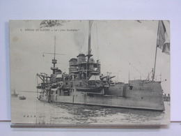 MARINE DE GUERRE - 3 LE LEON GAMBETTA - R.B.L.R. 1911 - Warships