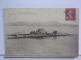 MARINE MILITAIRE FRANCAISE - 1095 - SOUS-MARIN VICTOR REVEILLÉ - ANIMEE - 1926 - Sottomarini