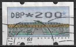 1993 Germania Federale - ATM - Automatenmarken - Mi. N. 2 - DBP 200 - Distributori