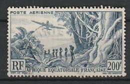 AEF - AFRIQUE EQUATORIALE FRANCAISE POSTE AERIENNE 1947-52 YT N° 52 Obl. - Usati