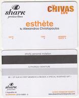 GREECE - Shark(Chivas), Esthete Member Card, Unused - Altri